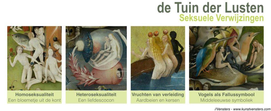 Tuin der Lusten - Bosch - Seksuele Verwijzingen