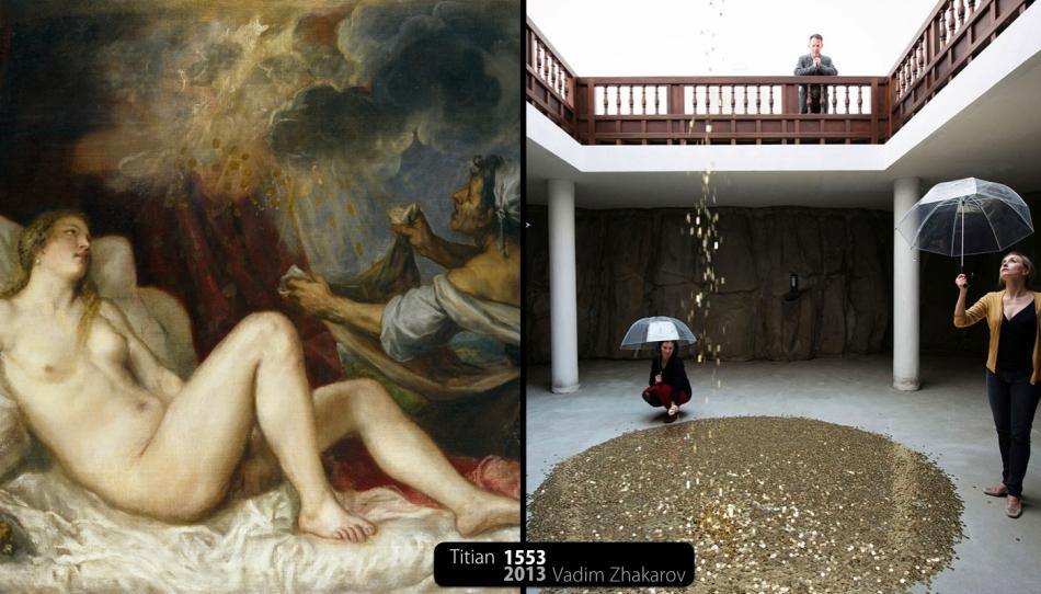 Danaë Mythe Kunst