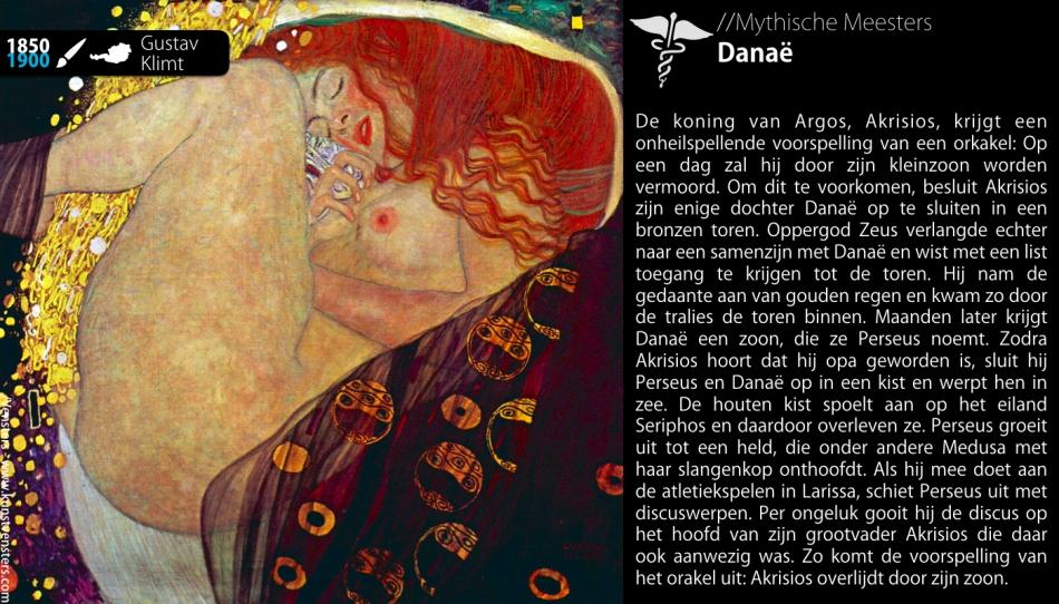 Danaë Perseus Zeus Mythe