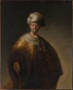 Rembrandt van Rijn - Man in Oosters Kostuum, The Metropolitan Museum of Art, New York