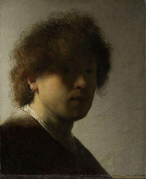 Rembrandt van Rijn - Zelfportret, Rijksmuseum