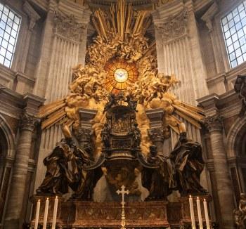 Gianlorenzo Bernini - de Stoel van Petrus