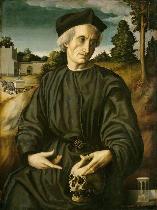 Francesco Bacchiacca - Paus Adrianus VI