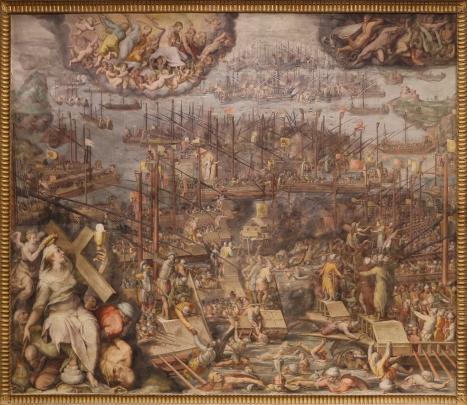 Giorgio Vasari - de Slag bij Lepanto