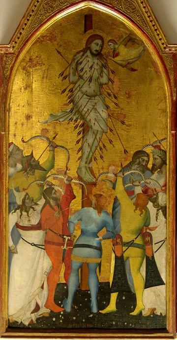 Giovanni del Biondo - St Sebastiaan