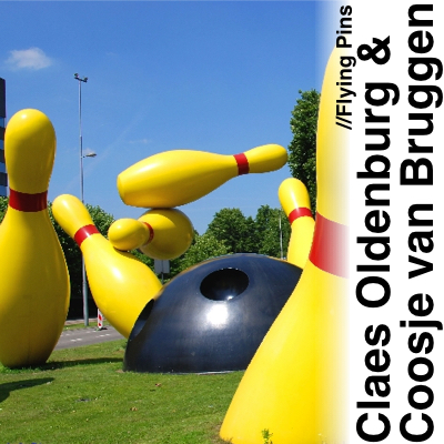 Claes Oldenburg Coosje van Bruggen Flying Pins