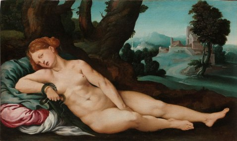 Jan van Scorel - De stervende Cleopatra