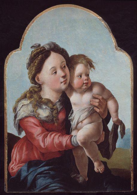 Jan van Scorel - Madonna met Kind