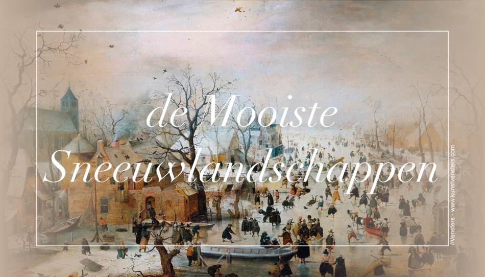Winter Sneeuwlandschappen Kunst