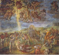 Michelangelo - de Bekering van Paulus