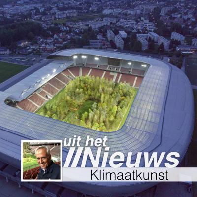 Klimaatkunst in Voetbalstadion