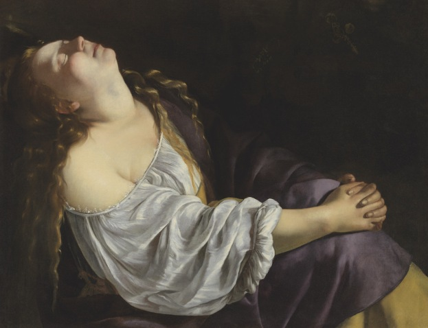 Artemisia Gentileschi - de Extase van Maria Magdalena