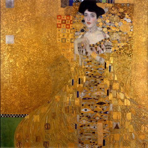 Portret van Adele Bloch Bauer - Gustav Klimt
