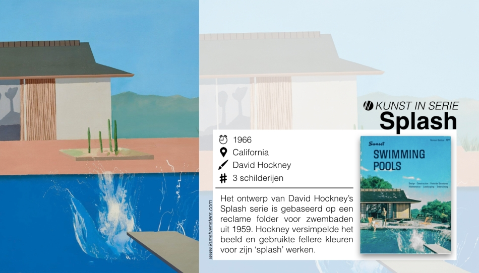 David Hockney - Splash serie