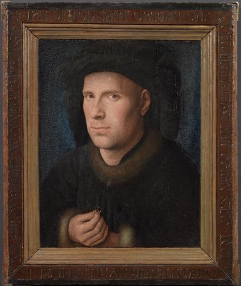 Jan van Eyck - Portret van Jan de Leeuw