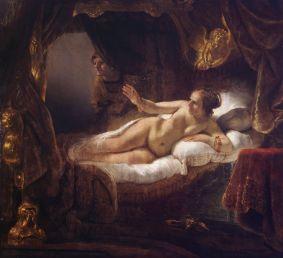 Rembrandt van Rijn - Danaë