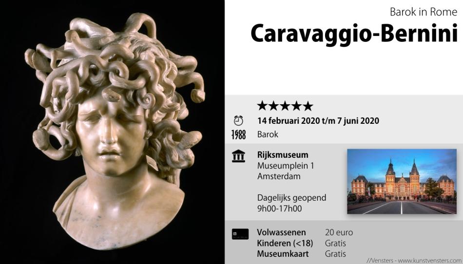 Caravaggio Bernini Rijksmuseum
