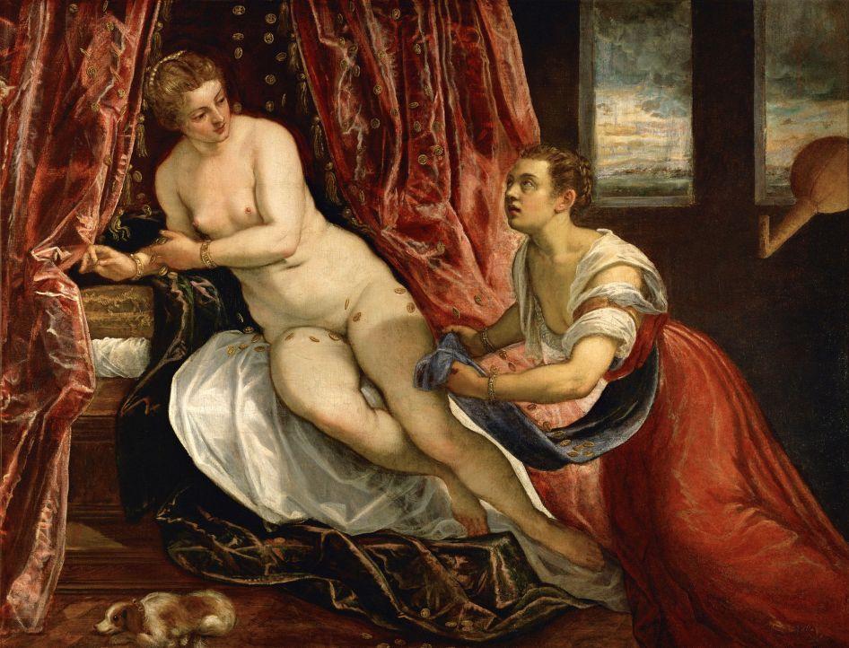 Tintoretto - Danaë