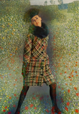 Norman Parkinson - Klimt revisited