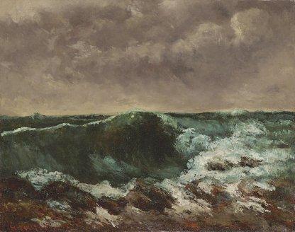 Gustave Courbet - de Golf