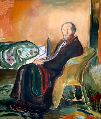 Edvard Munch - Zelfportret na de Spaanse Griep