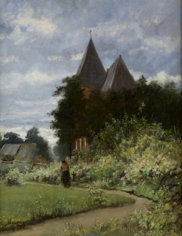 Geesje van Calcar - Kerk te Vries