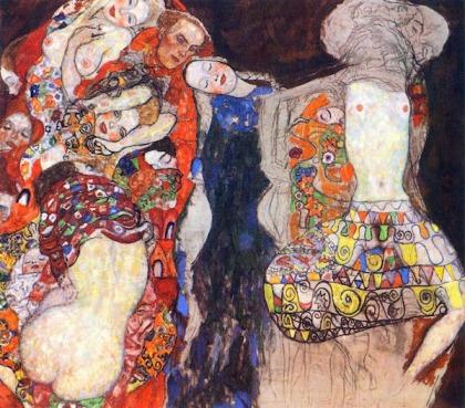 Gustav Klimt - de Bruid