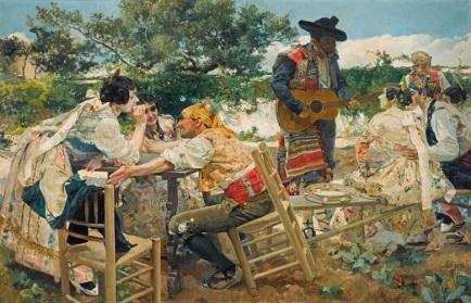 Joaquin Sorolla - Valencia Fiesta