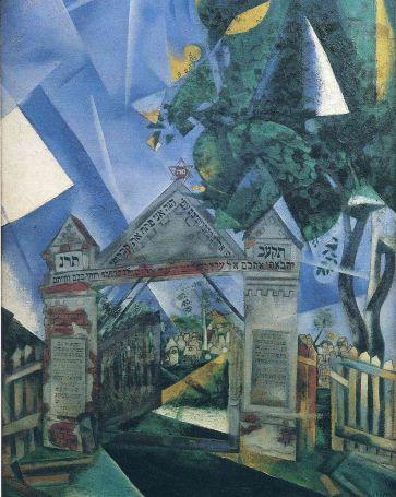 Marc Chagall - Poorten van de Begraafplaats