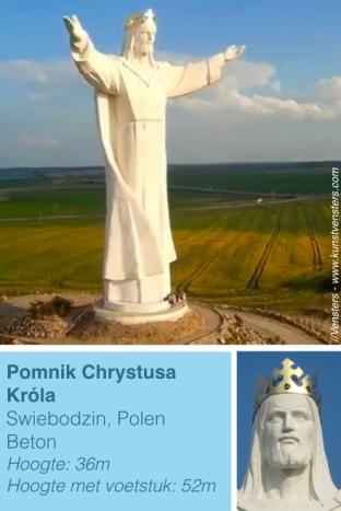 Jezus Beeld Swiebodzin Polin