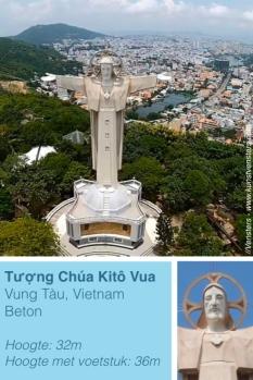 Jezus Beeld Vietnam Vung Tau