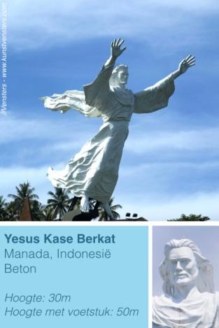 Jezus Indonesië Manada Beeld
