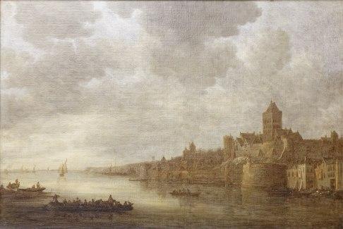 Jan van Goyen - Nijmegen (Louvre)