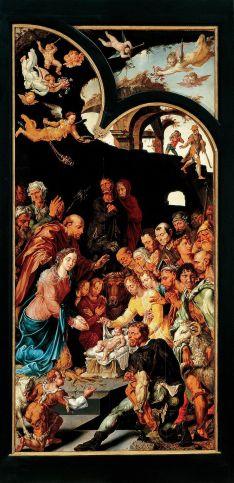 Maarten van Heemskerck - de Aanbidding door de Herders