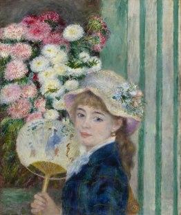Pierre Auguste Renoir - Vrouw met de Waaier