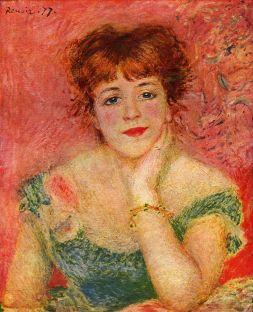 Pierre Auguste Renoir - Jeanne Samary