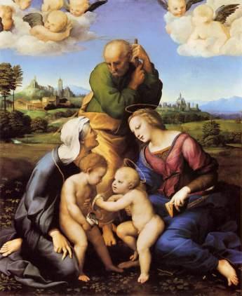 Rafaël - de Heilige Familie Canigiani