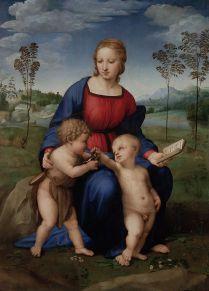 Rafaël - Madonna met het Puttertje