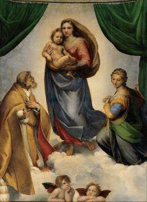 Rafaël - Sixtijnse Madonna