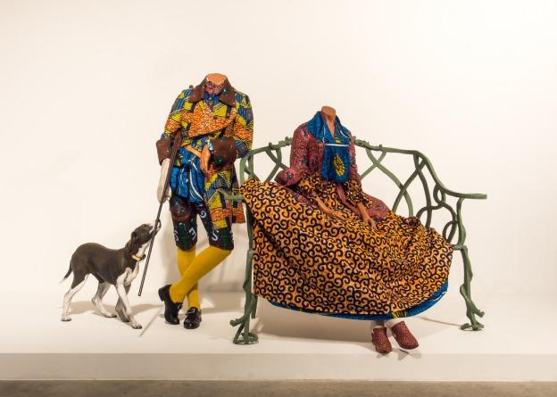 Yinka Shonibare - Mr. & Mrs. Andrews