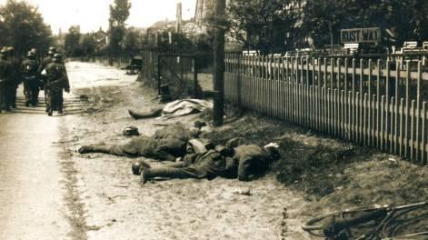 Gedode Nederlandse soldaten in mei 1940