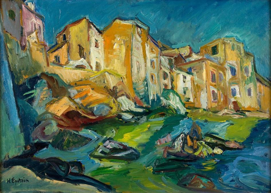 Henri Epstein - Landschap