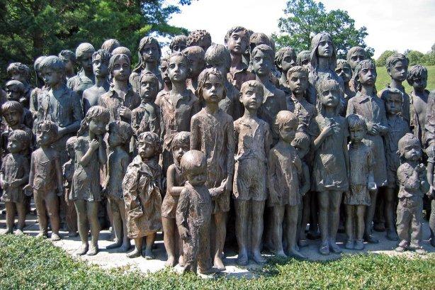 Lidice - Monument voor Omgekomen Kinderen