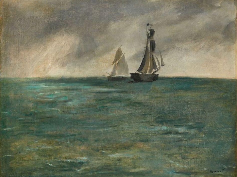 Edouard Manet - Marine temps d'orage