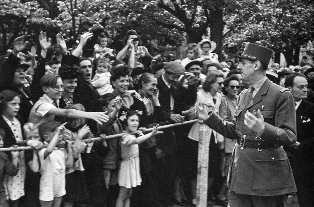 Robert Capa - Charles de Gaulle