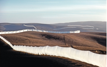 Christo and Jeanne-Claude - Running Fence