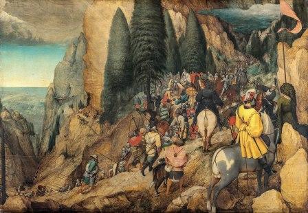 Pieter Bruegel - de Bekering van Paulus