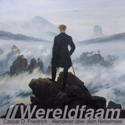 Caspar David Friedrich - Wanderer uber dem Nebelmeer