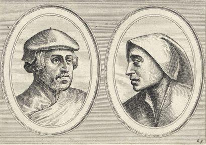 Joannes and Lucas van Doetecum - Oprechte Lammert en Deughdighe Geertruyd