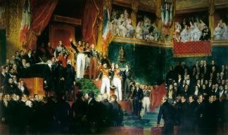 Eugène Devéria - Serment du roi Louis-Philippe